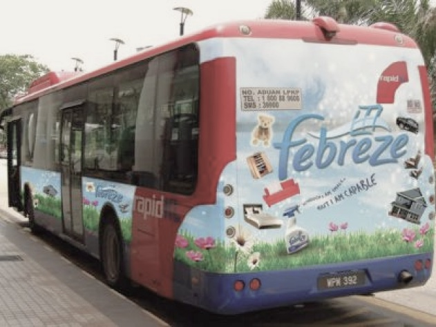 Advantages of Bus Advertising