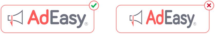 logo distortion