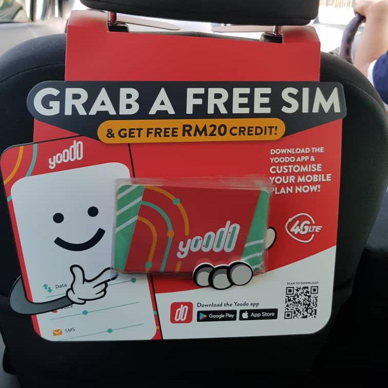 Grab In-Car Advertisements